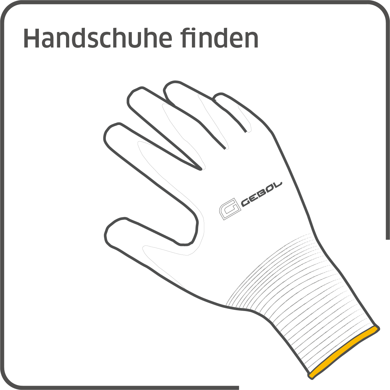 Pictogrammen website handschoenen