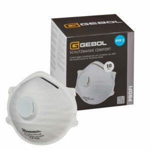 Schutzmaske Comfort FFP2 Mit Ventil Multipack