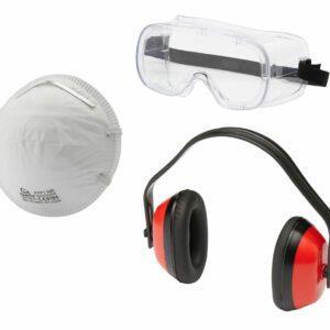 Arbeitsschutz-Set Basic 3-teilig