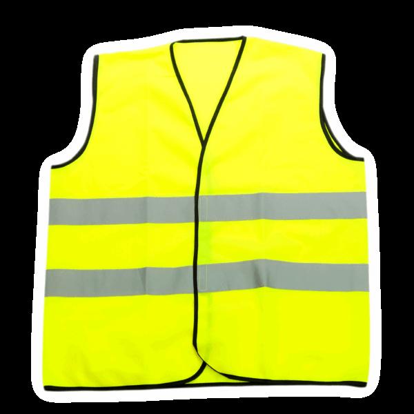 Warnschutzweste Gelb