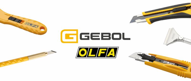 OLFA (Sicherheits)Cutter Und Klingen Aus Carbonstahl Exklusiv Bei GEBOL