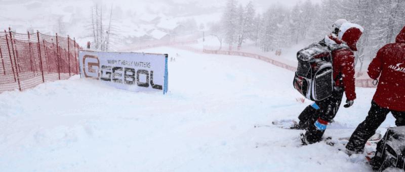 TV Auftritt Beim Skiweltcup